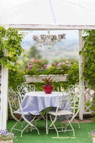 Gazebo,giardino,matrimonio