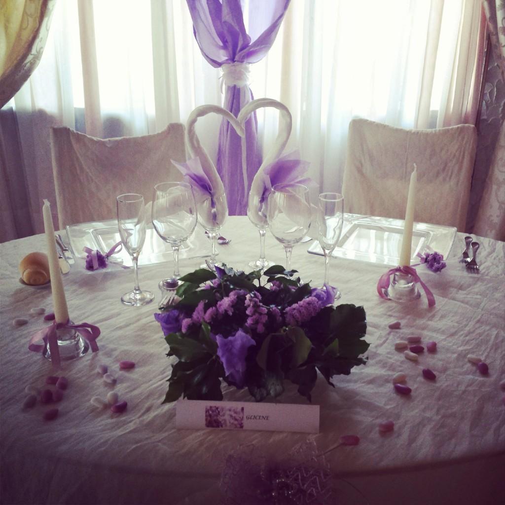 Tavolo Matrimonio Sposi