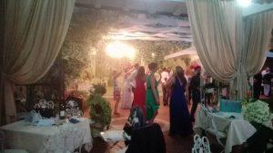 balli in giardino fiorito gazebi bianchi colli euganei matrimonio