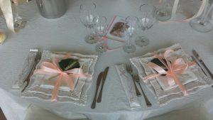 preparazione tavoli ristorante matrimonio colli euganei