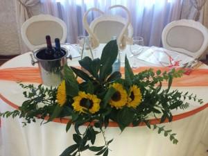 Tavolo Sposi in Cristallo estate 2014